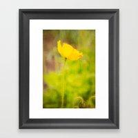 Dreamy Impressions Framed Art Print