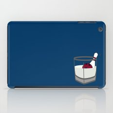 Hey, careful, man, there's a beverage here!  iPad Case
