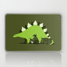 Crude oil comes from dinosaurs Laptop & iPad Skin