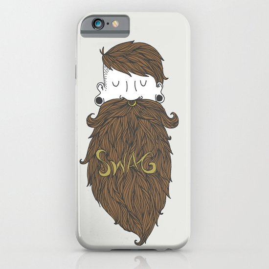 Beard Swag (Highlights) iPhone & iPod Case