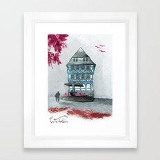 Wetzlar pink Framed Art Print