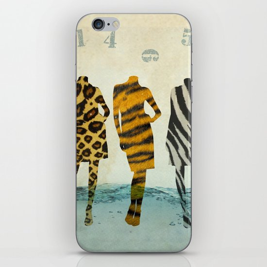 fashion line up iPhone & iPod Skin