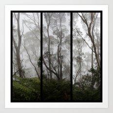 Forest - Triptych Art Print