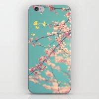 I Love Spring iPhone & iPod Skin