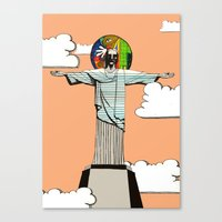 I Never Believed ... Canvas Print