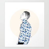 Inked #3 Art Print