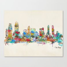 San Diego California Sky… Canvas Print