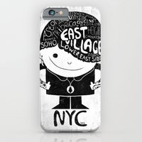 iPhone & iPod Case featuring NYC Club Kid 2012 by Farnell