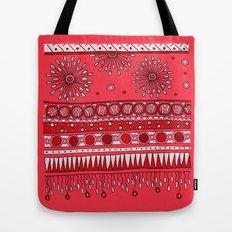 Yzor pattern 007-3 pink Tote Bag