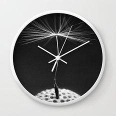 Seed Of A Dandelion Wall Clock