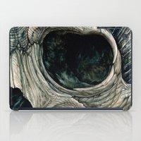 Fractal skull iPad Case