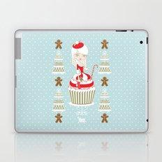 Merry Lady Christmas Cupcake Laptop & iPad Skin