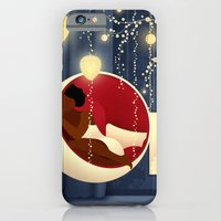 iPhone & iPod Case featuring Bubble Chair by Jenny Lloyd Illustration