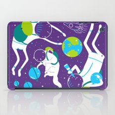 A Day Out In Space - Purple iPad Case
