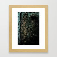 Crusted Framed Art Print