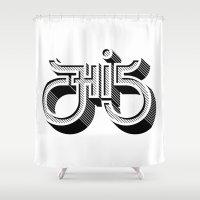 Hi 5 Shower Curtain