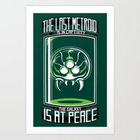The Last Metroid Art Print