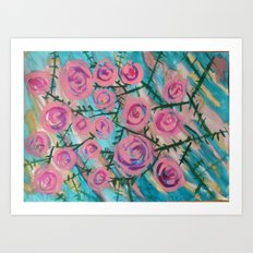 Florence Rose Art Print