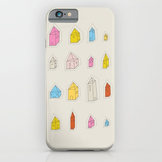 Transparent Houses iPhone & iPod Case