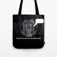 Space Scream Tote Bag