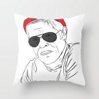 The Life Aquatic - Klaus Throw Pillow