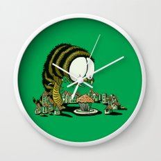 Huuungry! Wall Clock