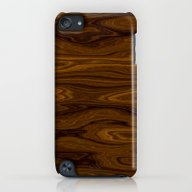 Wood Brown iPod touch Slim Case