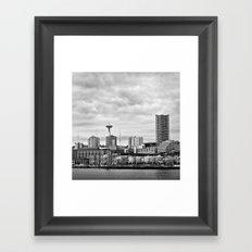 Seattle Waterfront Framed Art Print