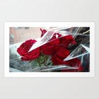 Abstract Love Art Print