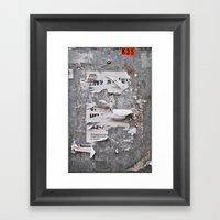 Urban Archaeology - Cope… Framed Art Print