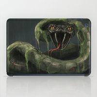 Mecha-Snake iPad Case