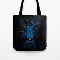 All-seeing Tree 2 Night Tote Bag