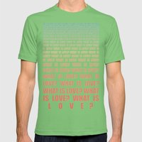 gradient Mens Fitted Tee Grass SMALL