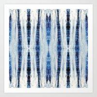 Nori Blue Art Print