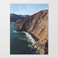 San Francisco Beach. Canvas Print