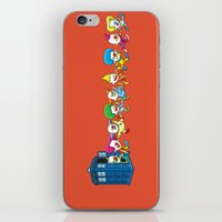 Clown Tardis Variant iPhone & iPod Skin