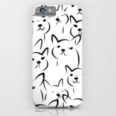 Mate,Friends,French bulldog iPhone 6s Slim Case