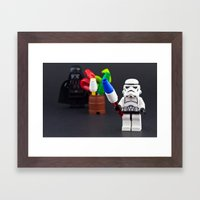 Happy Force of July Framed Art Print