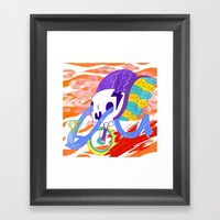 With You I See Clearly Framed Art Print