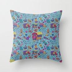 Caravan Pattern Throw Pillow
