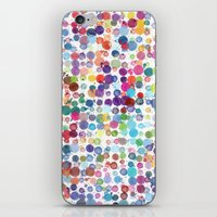 Colorful Paint Splats iPhone & iPod Skin