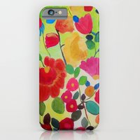iPhone & iPod Case featuring Flowers by Genevieve Lutsch