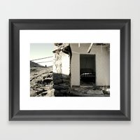 The house that collapsed. Vol 2 Framed Art Print