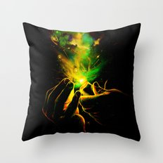 Light It Up! Throw Pillow