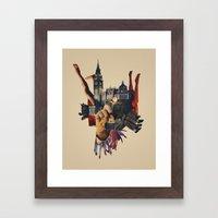 Backhand Framed Art Print