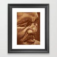 The Real Deal Framed Art Print