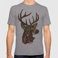 ROAD KILL ~ GREEN Mens Fitted Tee Athletic Grey SMALL