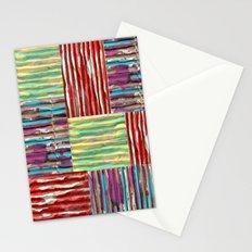Painterly Corrugated Cardboard Stationery Cards