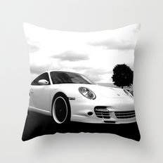 Porsche 911 Turbo Throw Pillow