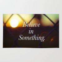Believe. Rug